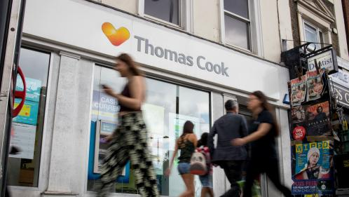 Le voyagiste britannique Thomas Cook fait faillite, 600 000 clients vont devoir être rapatriés