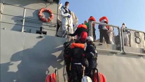Eurozapping : des indépendantistes arrêtés en Espagne ; accord de répartition des migrants