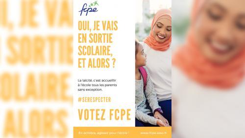 Laïcité: l'affiche de la FCPE qui fait bondir Jean-Michel Blanquer