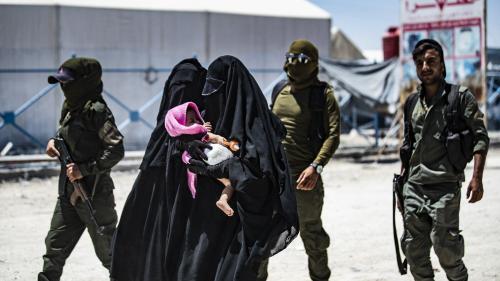 Neuf enfants de jihadistes, dont des petits-neveux et petites-nièces des frères Clain, viennent d'atterrir en France