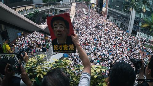 """RECIT. """"Cette loi a mis le feu aux poudres"""" : comment, en l'espace d'un été, Hong Kong s'est embrasé"""