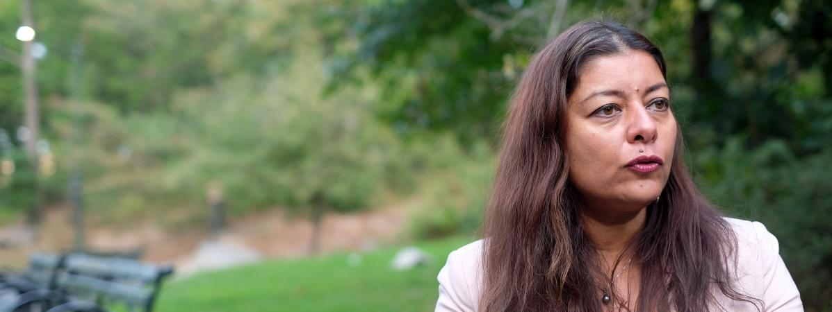 Sandra Muller, l\'instigatrice du mouvement #balancetonporc