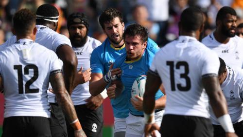 Mondial de rugby : l'Uruguay réalise le premier exploit de la compétition en battant les Fidji
