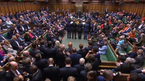 """DIRECT. Royaume-Uni : """"Ce Parlement est un Parlement mort"""", attaque un représentant du gouvernement"""
