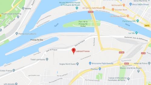 Incendie sur un site Seveso à Rouen : une cellule de crise mise en place, la préfecture demande d'éviter le secteur