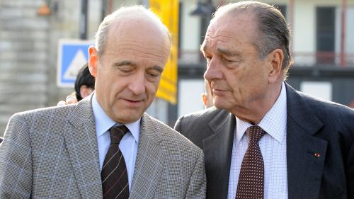 """VIDEO. """"Ce soir, j'ai beaucoup de peine"""" : ému, Alain Juppé salue """"plus qu'un ami"""" après la mort de Jacques Chirac"""
