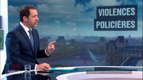 """VIDEO. """"Complément d'enquête"""" revient sur la première année de Christophe Castaner au ministère de l'Intérieur"""