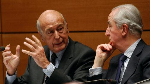 Valéry Giscard d'Estaing et Edouard Balladur, les meilleurs ennemis de Jacques Chirac