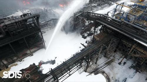 Incendie de l'usine Lubrizol à Rouen : des responsables de gauche réclament une transparence sur les risques sanitaires