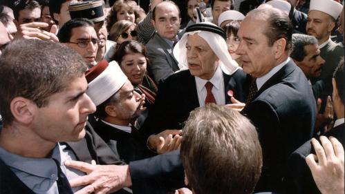 """""""Doyouwantmetogobacktomyplane?"""": """"C'est parce qu'il a osé dire non aux Israéliens que Jacques Chirac est devenu populaire dans le monde arabe"""""""