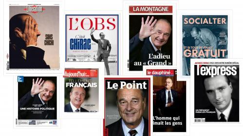 EN IMAGES. La presse française rend hommage à Jacques Chirac au lendemain de sa mort