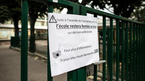 Incendie de Lubrizol à Rouen : 25 établissements ne sont pas en condition de rouvrir