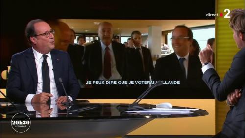 VIDEO. François Hollande a été surpris par le soutien que lui a apporté Jacques Chirac pour la présidentielle de 2012