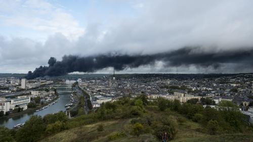 Incendie de l'usine Lubrizol : le nuage a traversé la Belgique
