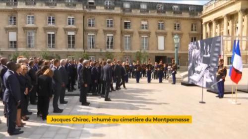 DIRECT. Une minute de silence observée en hommage à Jacques Chirac