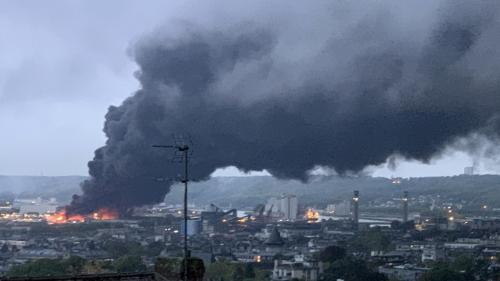 """Incendie à Rouen : l'association de l'ex-ministre de l'Environnement Corinne Lepage saisit la justice pour """"obtenir des informations"""""""