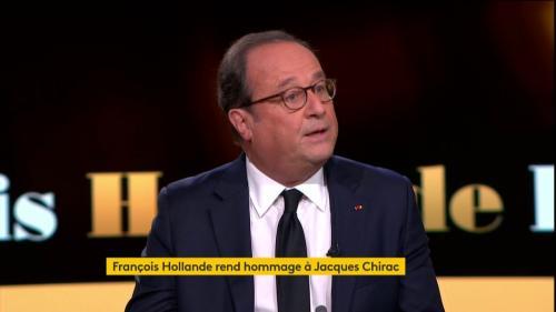 """""""Jacques Chirac toute sa vie a voulu être aimé"""", pense François Hollande"""