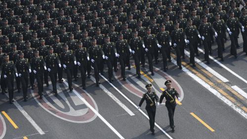 """En pleine crise à Hong Kong, Pékin fête le 70e anniversaire de son régime et assure que """"rien"""" ne peut l'ébranler"""