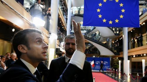 DIRECT. Regardez le discours d'Emmanuel Macron à l'occasion du 70e anniversaire du Conseil de l'Europe