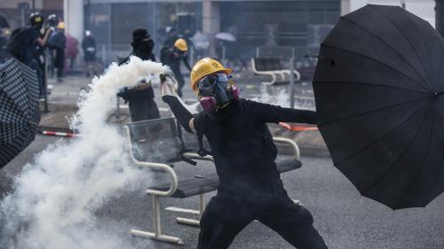 DIRECT. Hong Kong : un manifestant blessé par un tir à balle réelle pendant le 70e anniversaire de la Chine communiste
