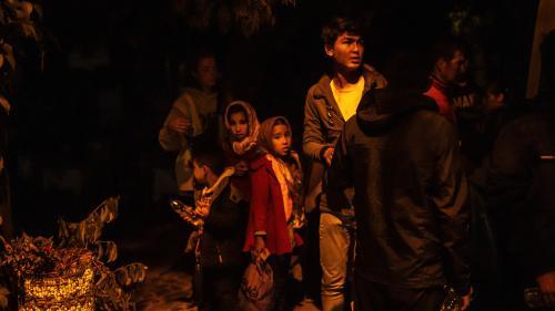 L'île grecque de Lesbos en état d'urgence face à l'afflux de migrants