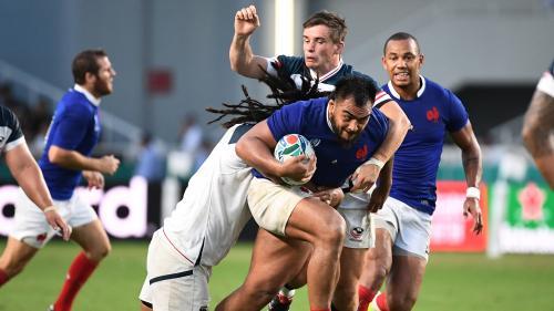 Coupe du monde de rugby : ce qu'il faut retenir du succès poussif, mais avec bonus offensif, du XV de France face aux Etats-Unis
