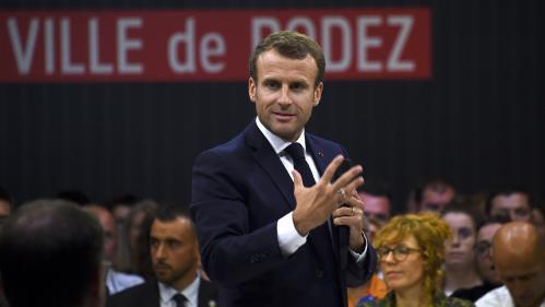 Réforme des retraites : ce qu'il faut retenir du grand débat d'Emmanuel Macron à Rodez