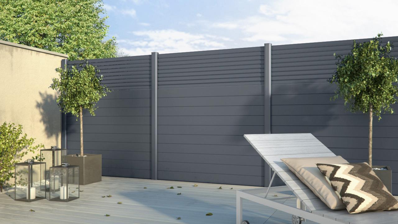 Cloture Jardin Pvc Pas Cher jardin. quel matériau choisir pour clôturer votre jardin ?
