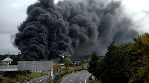 RECIT. De l'incendie de l'usine Lubrizol aux interrogations sur la nocivité des produits, retour sur six jours d'angoisse à Rouen
