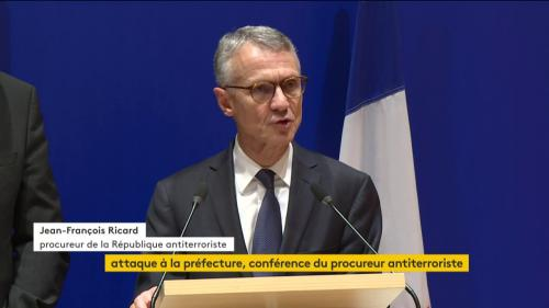 """Attaque à la préfecture de police de Paris : l'assaillant """"aurait adhéré à une vision radicale de l'islam"""", annonce le procureur antiterroriste"""