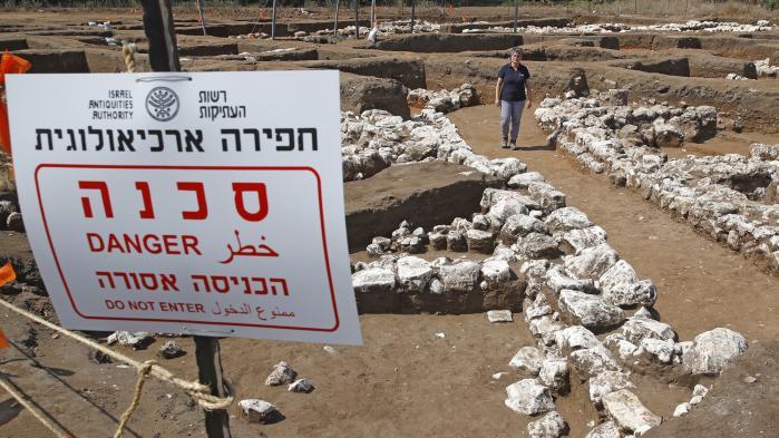Les vestiges d'une ville de 5.000 ans, parmi les plus grandes du Proche-Orient exhumés en Israël