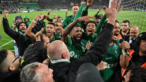 Ligue 1 : un but à la dernière minute offre le derby à Saint-Etienne contre Lyon (1-0)