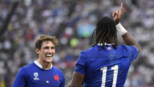 Mondial de rugby : la France se qualifie dans la douleur pour les quarts de finale en battant de justesse les Tonga (23-21)