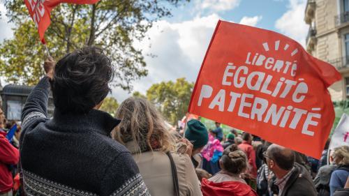 """""""On est en train d'éjecter les pères et de les rendre facultatifs"""": les opposants à la PMA pour toutes descendent de nouveau dans larue"""