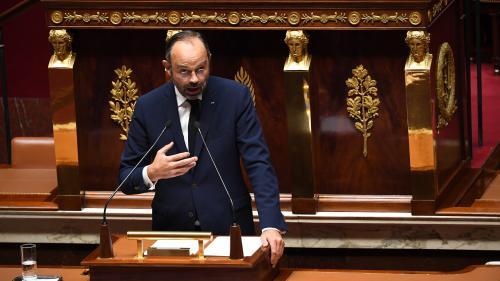 """VIDEO. """"Je n'ai pas peur de réfléchir à l'idée de quotas"""" d'immigration, déclare Edouard Philippe"""