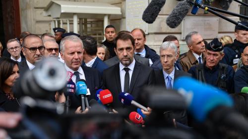 """DIRECT. Attaque à la préfecture de police : """"Rien n'indique qu'il s'agit d'un système organisé"""", estime Christophe Castaner"""