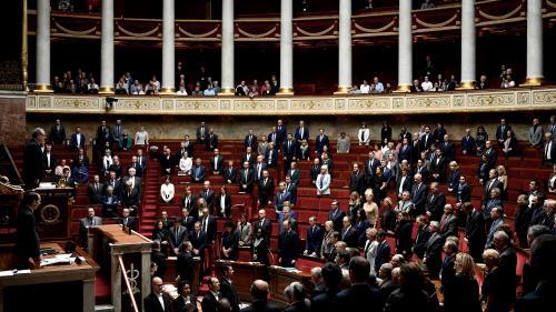 VIDEO. Tuerie à la préfecture de police : les députés et les sénateurs ont observé une minute de silence