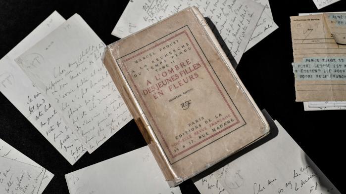 Aux enchères, des lettres de Marcel Proust ne trouvent pas d'acquéreur
