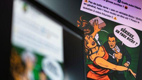 Une femme frappée pour un hamburger: tollé en Belgique autour d'une publicité