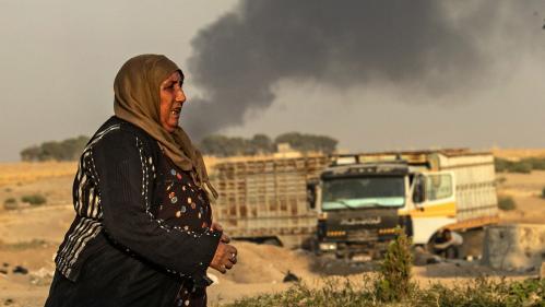 """La France condamne """"très fermement"""" l'offensive turque dans le nord-est de la Syrie"""