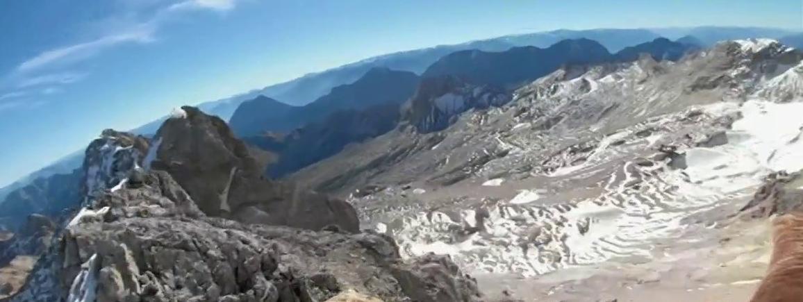 VIDEO. Le massif du Mont-Blanc filmé depuis un aigle pour alerter sur les effets du réchauffement climatique