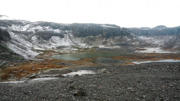 Un paysage desîles Kerguelen.