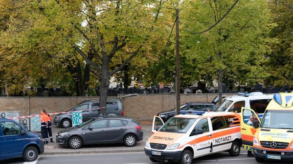 Allemagne : ce que l'on sait de l'attentat contre une synagogue qui a fait au moins deux morts à Halle