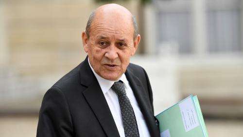 """""""L'opération unilatérale lancée par la Turquie en Syrie doit cesser"""", déclare Jean-Yves Le Drian"""