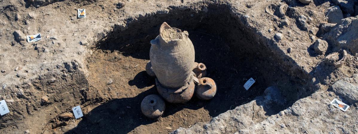 Sites funéraires Amérindiens datant 5 000