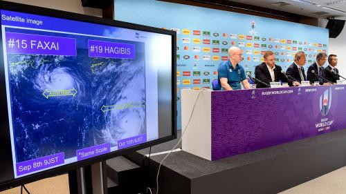 Coupe du monde de rugby : le choc entre la France et l'Angleterre annulé