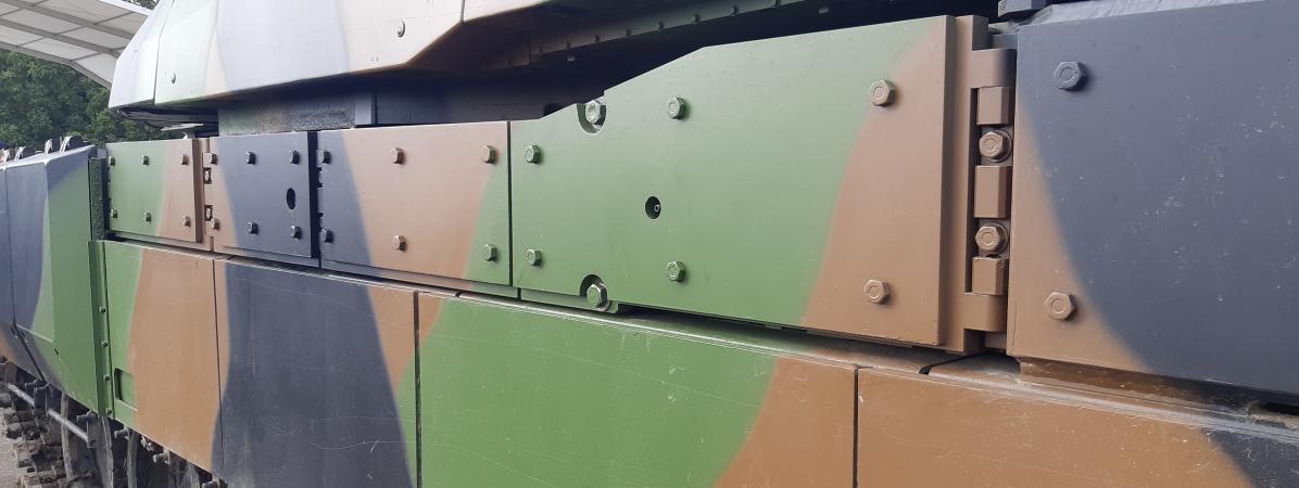 Pour le nouveau camouflage de ses véhicules, l'Armée de terre joue la carte du trompe-l'œil
