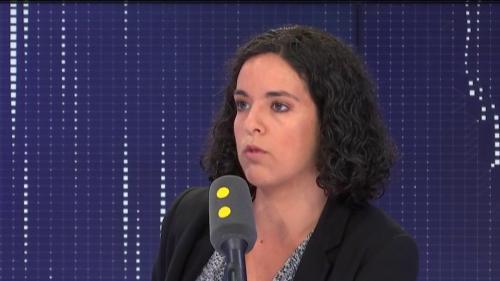 """VIDÉO. """"Christophe Castaner me fait honte en tant que ministre de l'Intérieur"""", affirme Manon Aubry"""