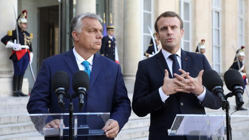 """Commission européenne : Emmanuel Macron appelle à """"sortir des crispations actuelles"""" après le rejet de la candidature de Sylvie Goulard"""