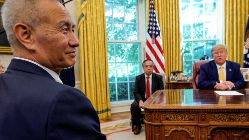 """Guerre commerciale: les Etats-Unis annoncent un accord partiel, mais """"très important"""", avec la Chine"""